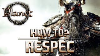Elder Scrolls Online (ESO) - How to Respec? (Reset Skill & Attribute Points)