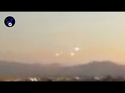 Multiple Huge UFO Sighted over Santiago,Chile June 25,2018