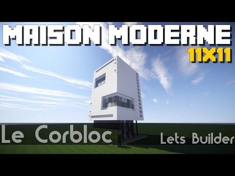 Minecraft - Maison Moderne 11x11 ( + Téléchargement )