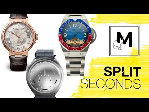 Split Seconds: Talked About Watches from the Trade Shows