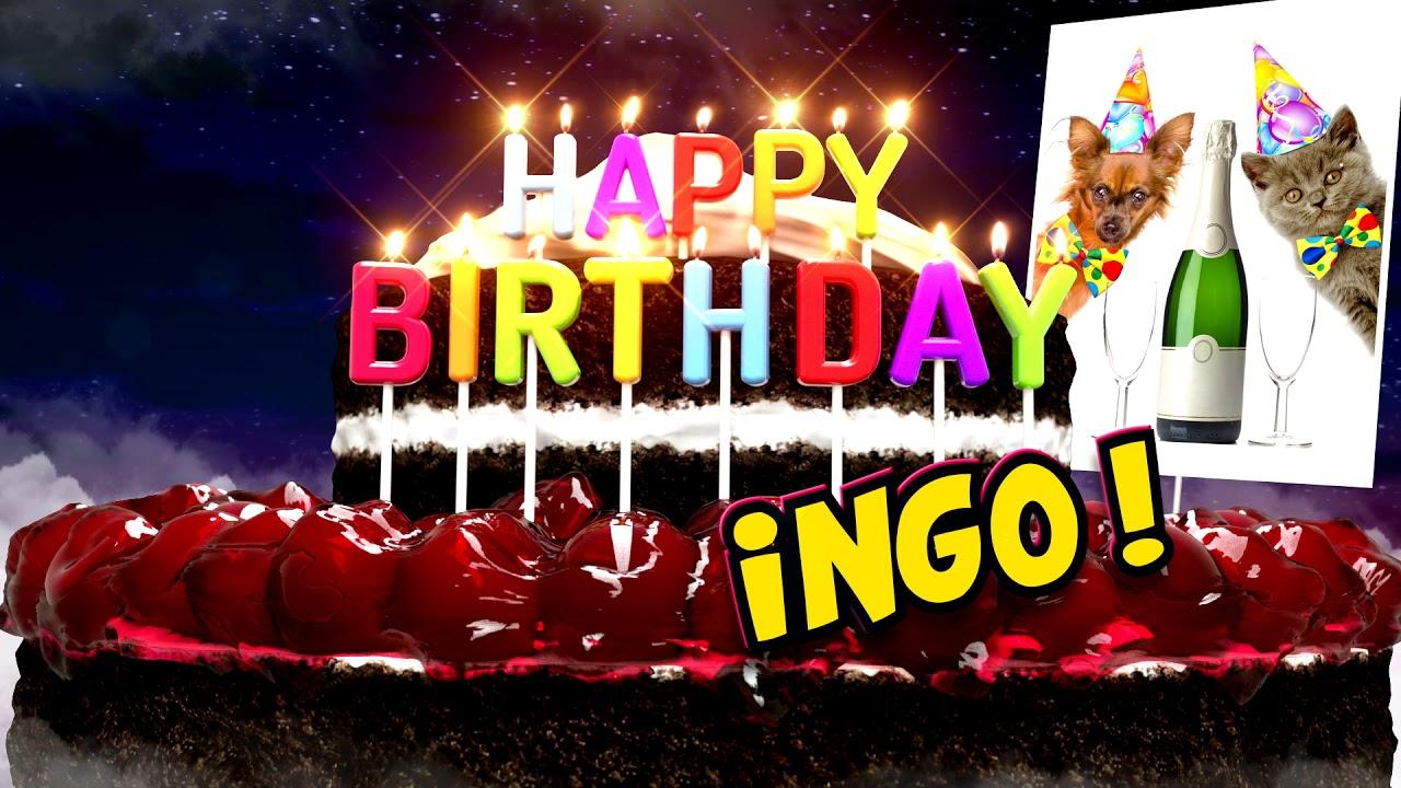 Happy Birthday Ingo ! (Geburtstagsclip - Basic) - YouTube