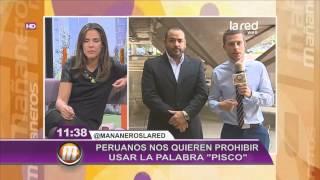 """Peruanos reclaman por el origen de la palabra """"pisco"""""""