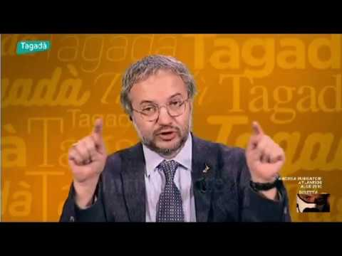 """Claudio Borghi Aquilini - Diritto Al Tetto - Flat Tax """"Se ci Arrivasse Uno Tsunami"""" 13/12/2017"""