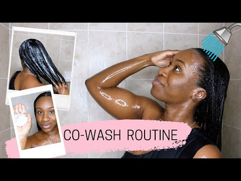 CO-WASH ROUTINE   RELAXED HAIR