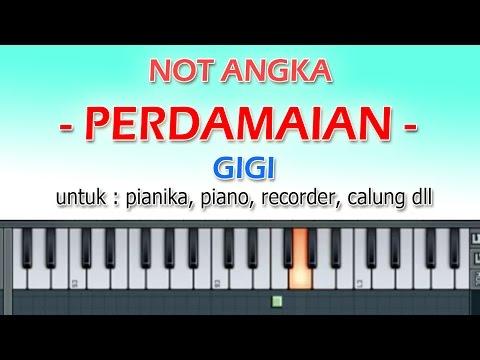 NOT ANGKA - PERDAMAIAN - GIGI - by dennyranch