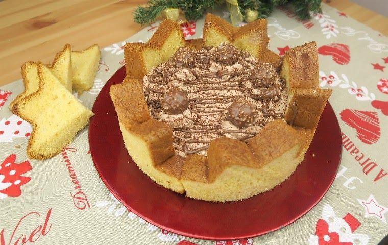 Torta Pandoro Lidea Originale Per Servire Il Dessert Youtube