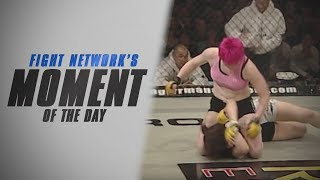Aisling Daly Bashes Aysen Berik at Cage Rage 25 | #TBT Moment of the Day