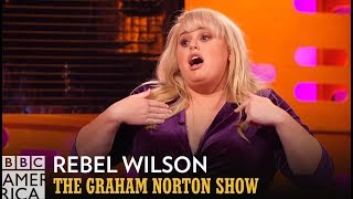 rebel wilson performs lady gaga song at pitch perfect audition   the graham norton show