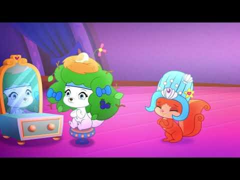 Пушистые истории. Королевские питомцы - Сезон 3 серия1 - Модный Пушистый бал | Мультфильм Disney