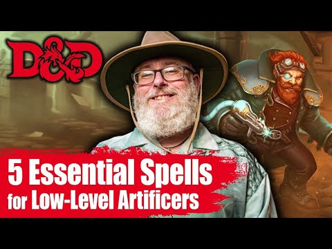 5 Best D D Artificer Spells For Tier 1 Youtube Consult the table below to know the number of artificer spells available per spell level. 5 best d d artificer spells for tier 1
