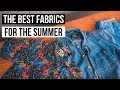 The 4 Best Fabrics For Staying Cool in The Summer