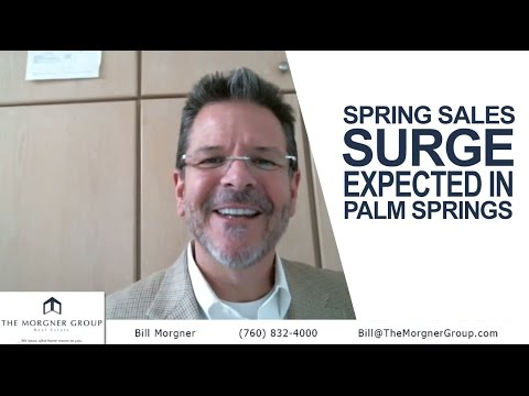 Palm Springs, CA Real Estate - Spring Sales Surge Expected in Palm Springs