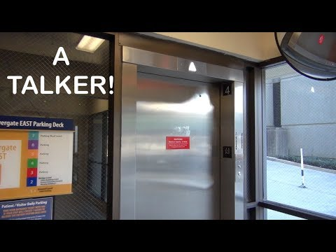 A talkative Southeastern/Dover elevator at the Emory Parking Deck Atlanta GA