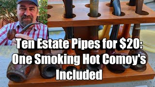 Ten Estate Pipes for $20: Comoy's Included