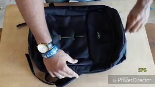 2017 acer laptop bag Review (black colour strong heavy duty)Indian unit
