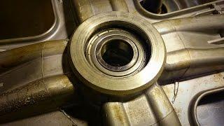 Как заменить подшипники в стиральной машине Ariston AVSL 129(http://washrepair.ru/zamena-podshipnika-v-stiralnoj-mashin/ - Описание еще одной замены здесь Замена подшипников в стиральной машине..., 2015-12-04T15:38:45.000Z)
