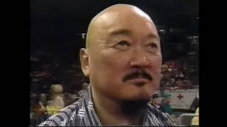 Yokozuna vs Jobber Corey Student WWF Superstars 1994
