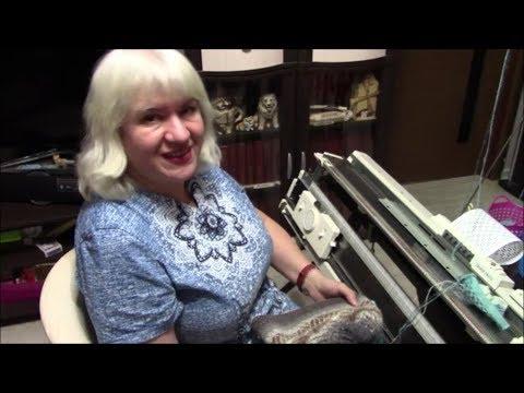 Видео уроки вязания на машинке для начинающих