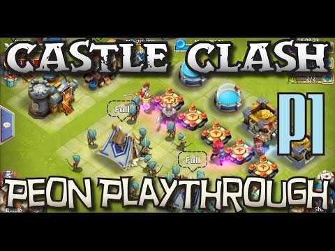 Castle Clash Peon 1: Hoochies, And Horsies - Peon Playthrough P1