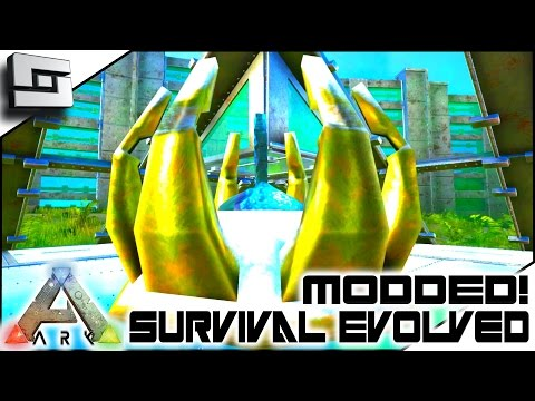 MODDED ARK: Annunaki Genesis - MIDAS TOUCH ITEM DUPING! E26 ( Gameplay )