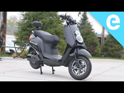 Review: $1,999 Bloom Scooter Electric Moped