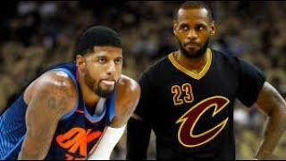 PAUL GEORGE WILL SIGN WITH THE LAKERS IS WHAT MY GUT TELLS ME!