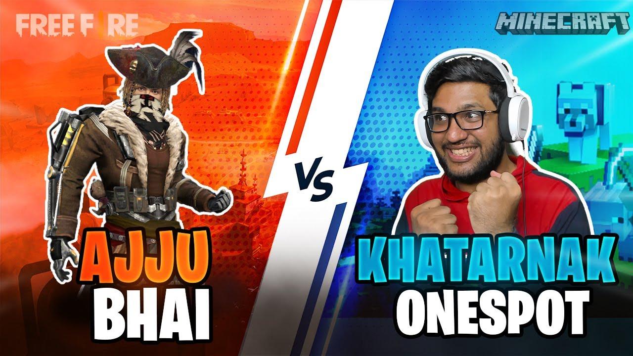 AJJUBHAI94 VS ISHAN (KHATARNAK ONESPOT) BEST CLASH SQUAD GAMEPLAY   GARENA FREE FIRE