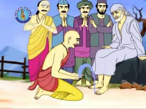 Telugu Animated Stories - Sai Baba Charithra (Mythological Stories)