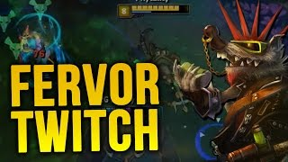 NEW FERVOR TWITCH - PLACEMENTS Unranked to Diamond 1 (League of Legends)