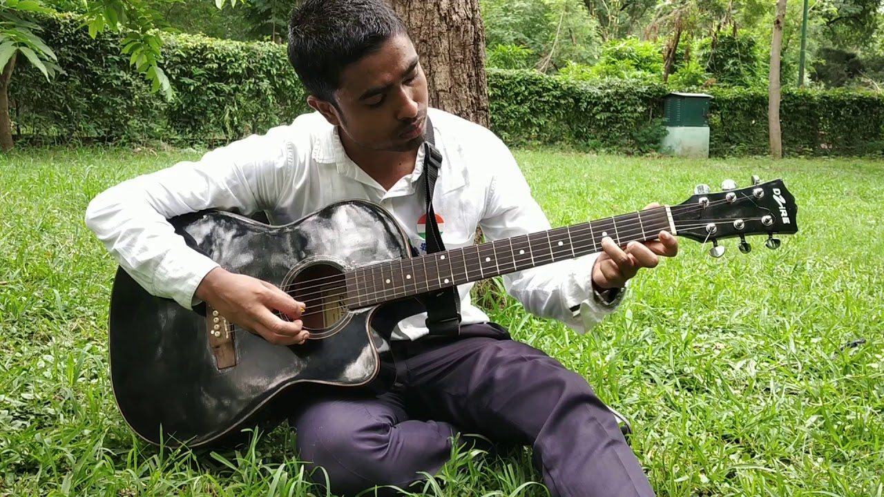 how to play sare jahan se acha on guitar