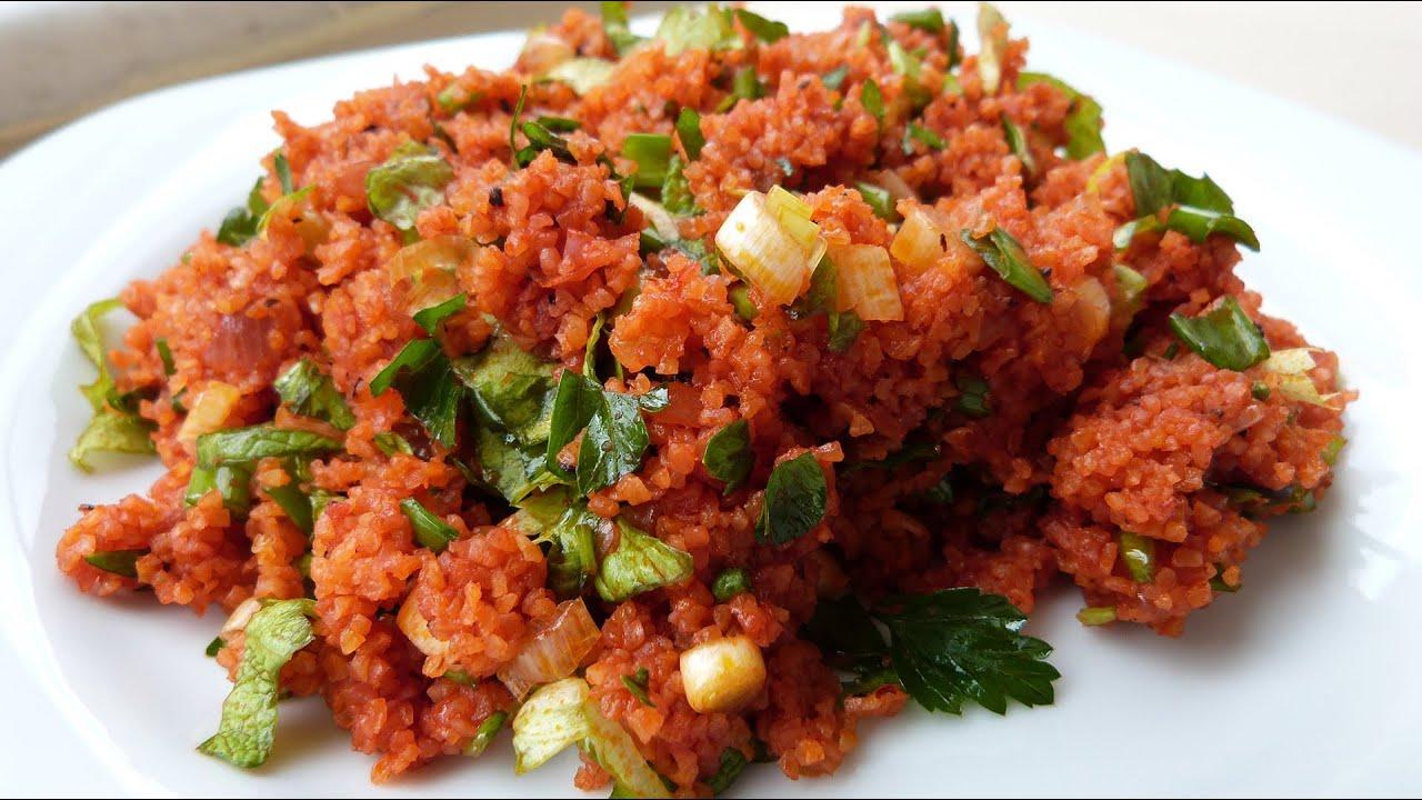 Салат с булгур рецепт   рецепт салата - YouTube