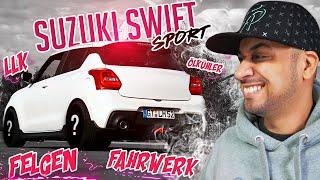 JP Performance - Flo's Suzuki Swift Sport | LLK, Felgen, Fahrwerk, Ölkühler