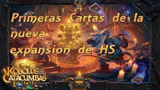 Primeras cartas de la nueva expansión de HS Kobolds y Catacumbas // Hearthstone