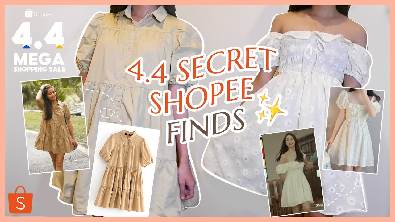 SHOPEE CLOTHING HAUL + MY 4 SECRET SHOPEE FINDS AND GIVEAWAY! | Angel Bringas 🌸