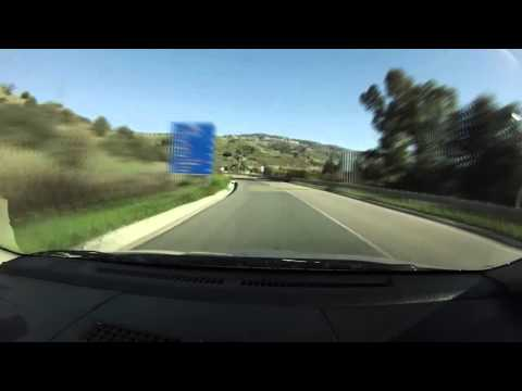 Onboard Paphos-Troodos mountain (04/02/2012)