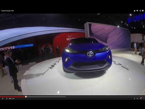 Toyota Concept C-HR & Toyota FCV Hydrogène (Mondial de l'Automobile 2014)