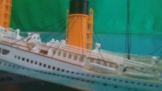Titanic Model Sinking