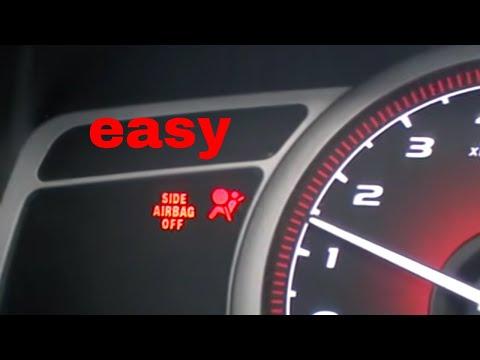Airbag Srs Light Reset Honda Acura Youtube