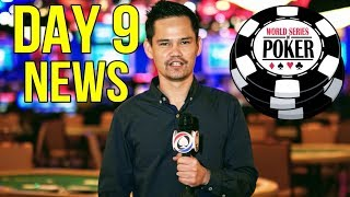 Day 9 of the WSOP - What's happening today?