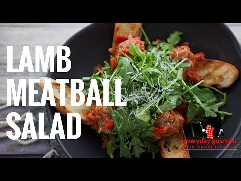 Lamb Meatball Salad | Everyday Gourmet S6 EP54