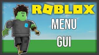 ROBLOX | How to make a Menu GUI
