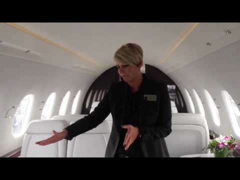 Cessna Citation Hemisphere Cabin Tour V2