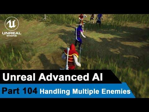 Melee Combat AI Handling Multiple Enemies- UE4 Tutorials #104 | Suid