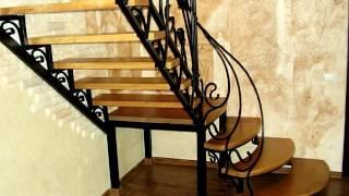 видео лестницы на второй этаж в частном