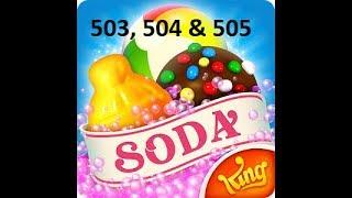CANDY CRUSH SODA Saga Super Hard Level 503 504 & 505 ★★★