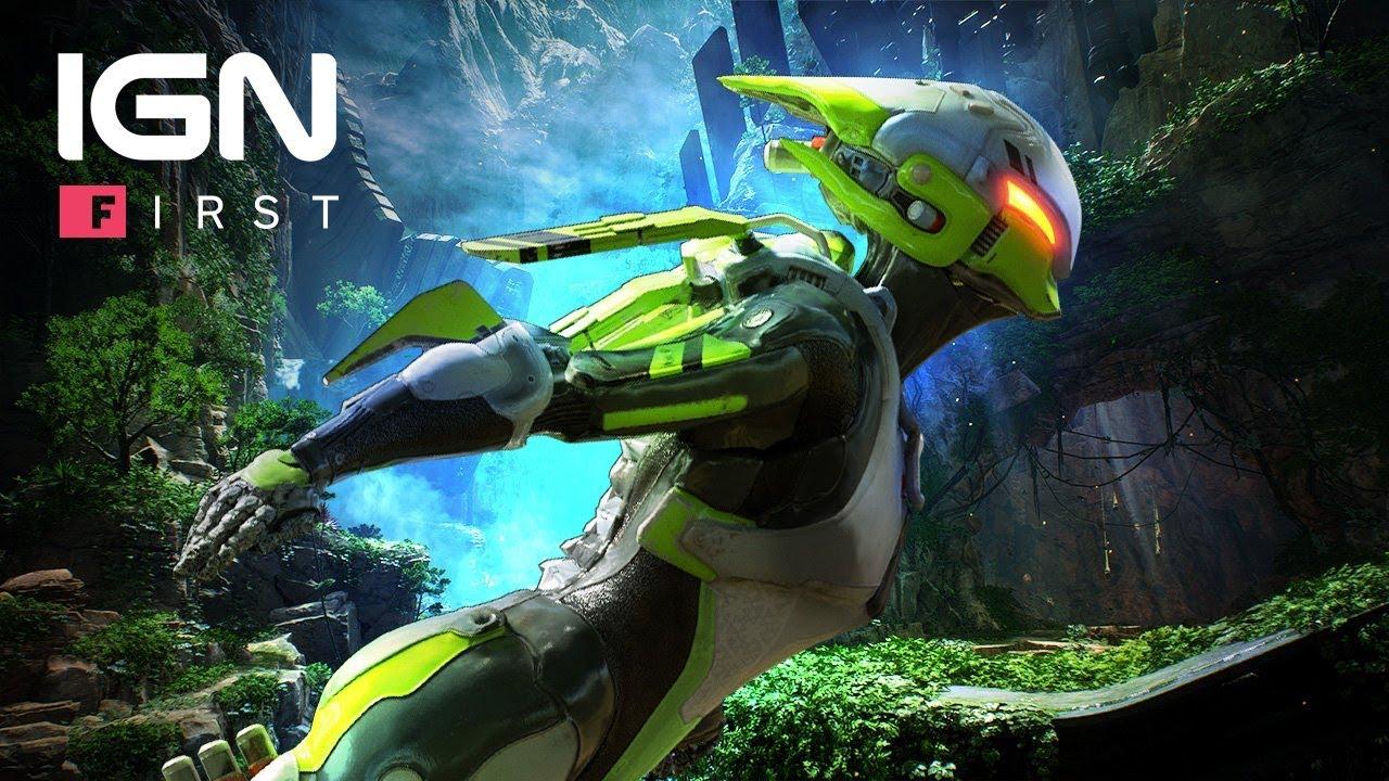 Anthem Interceptor Javelin Gameplay Profile Ign First Youtube