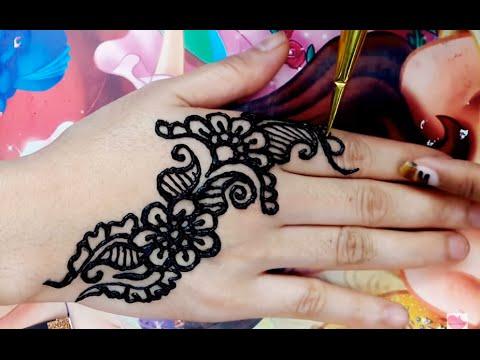 ᴴᴰ Make Amazing Designs Henna Mehndi Tatto Art Tutorial Step By