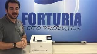 UNBOXING HP LASERJET PRO M252dw - Indicada para Transfer Laser