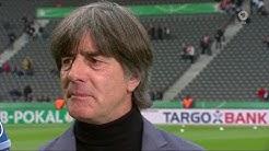 Joachim Löw & Oliver Bierhoff ARD pre-match interview - DFB Pokalfinale 2018/19
