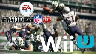 Madden NFL 13 on Wii U PREVIEW! Gameplay, gamepad details, and more!